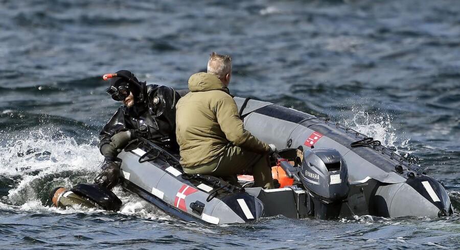 Arkivfoto: Saven er fundet i Køge Bugt nær den rute, som politiet vurderer, at drabssigtede Peter Madsens ubåd sejlede 11. august i år.