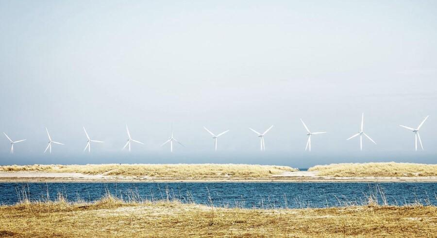 Arkivfoto. I adskillige kommuner vokser modstanden mod flere vindmøller i det danske landskab.