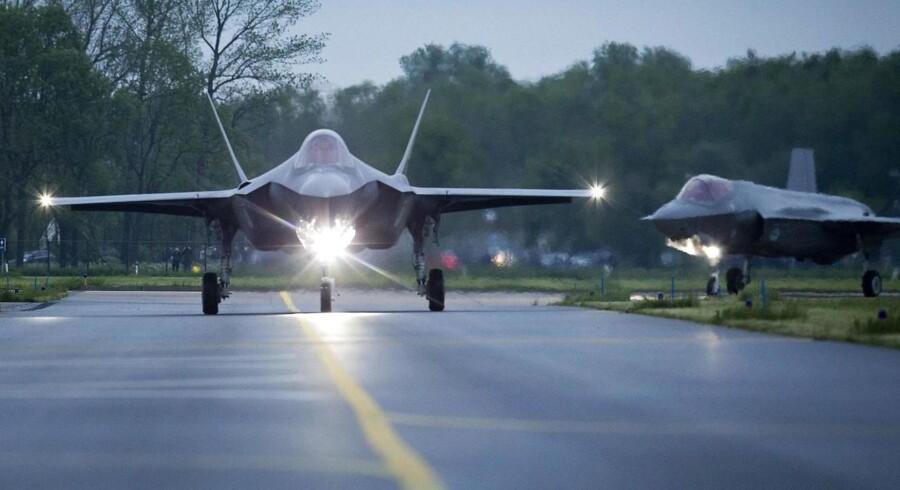 To hollandske F-35.