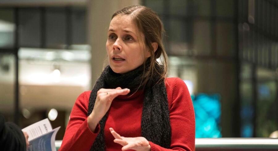 Katrin Jakobsdottir bliver Islands statsminister.