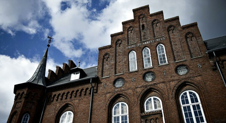 Retten i Roskilde, arkivfoto.