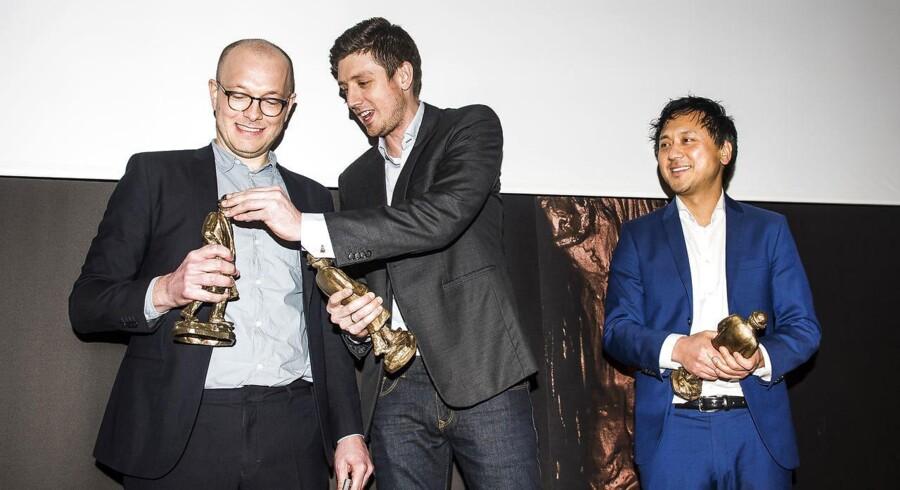 Berlingske-journalisterne Chris Kjær Jessen, Michael Lund og Lars Nørgaard Pedersen har vundet Cavlingprisen for deres afdækning af den såkaldte kvælstofsag.