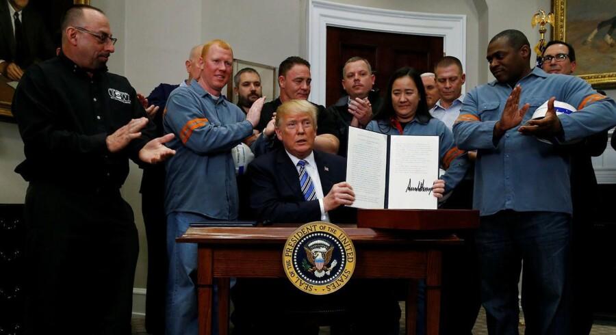 Trump, Nordkorea og jobtal kan sætte dagsordenen