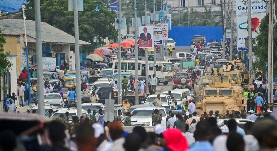 Mogadishu i Somalia 20. december 2016.