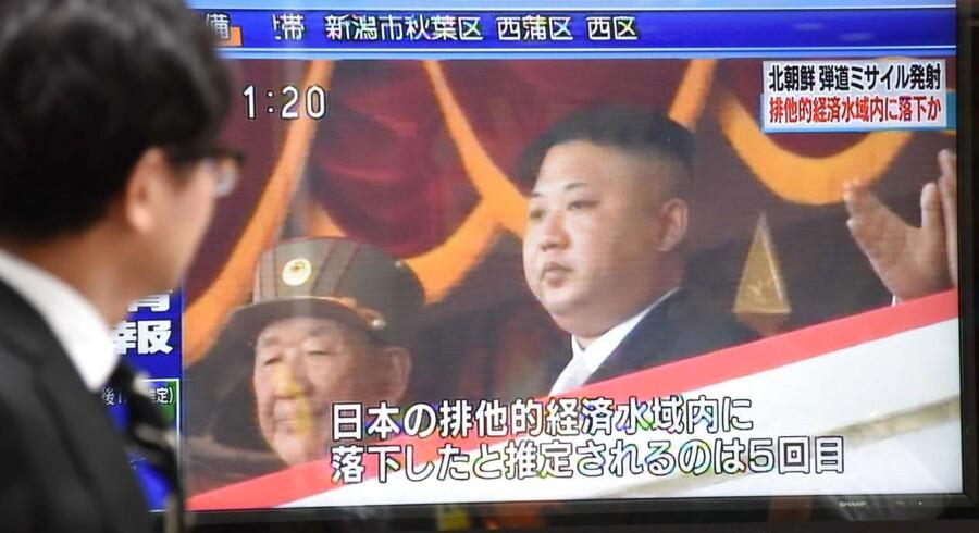Vellykket test af missil, der kan ændre trusselsbilledet, blev overværet af Kim Jong-un, siger Nordkorea.