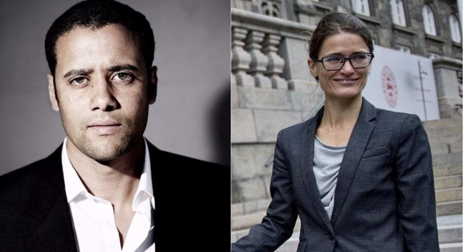 Berlingske har spurgt generalsekretær i den danske afdeling af Amnesty Interna-tional Trine Chris-tensen (TC) og Jacob Mchangama (JM), direktør i tænke-tanken Justitia, om deres syn på Danmarks kandidatur til FNs Menneske-rettighedsråd.