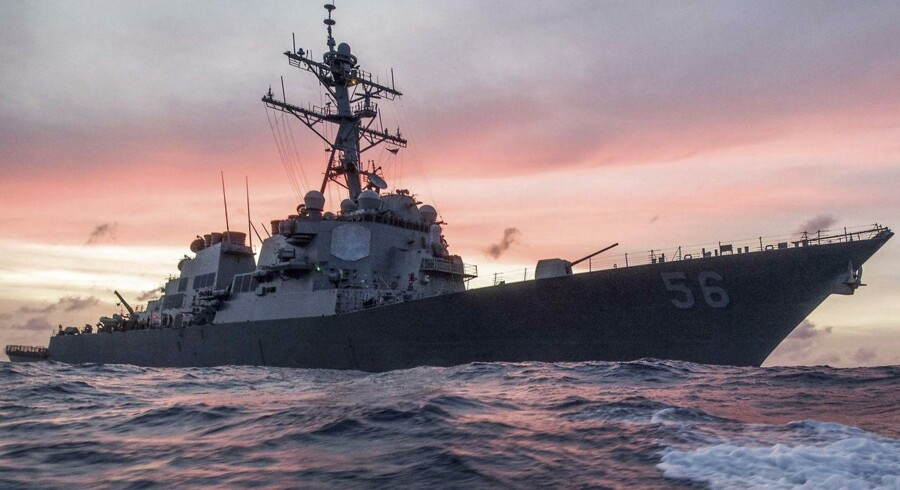 ARKIVFOTO: USS John S. McCain.