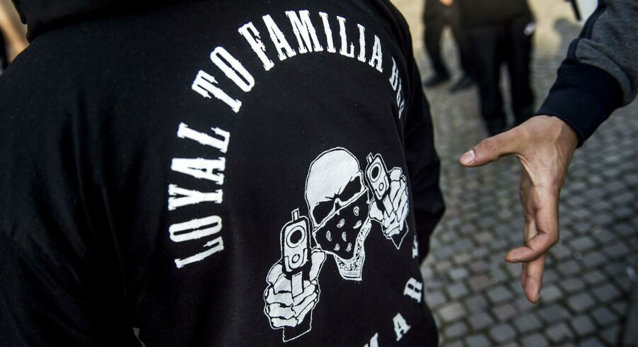 Arkivfoto: To mænd med relation til banden Loyal to Familia (LTF) blev tirsdag varetægtsfængslet i 21 dage sigtet i sagen om drabet på en 22-årig mand i Mjølnerparken på Nørrebro i København tidligere på måneden.