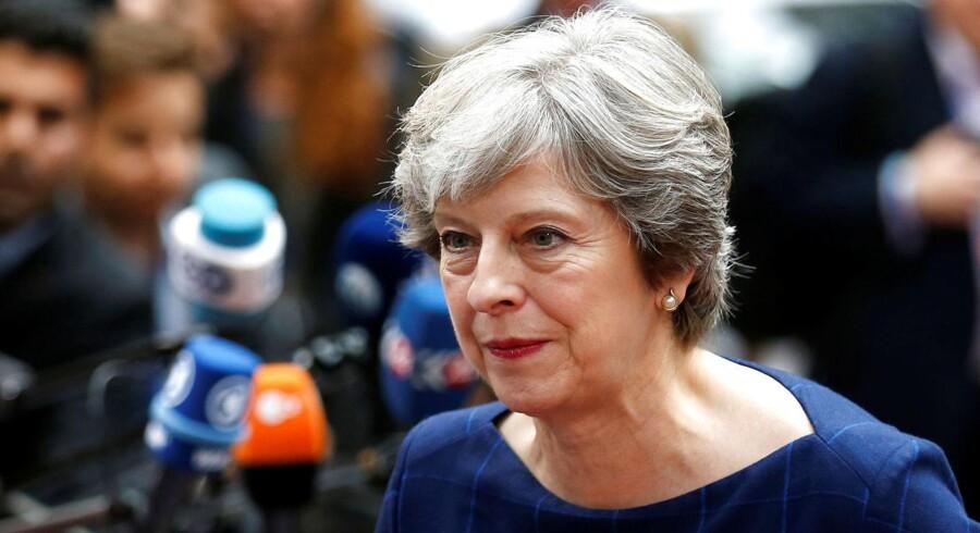 Theresa May, håber, at det hurtigt vil lykkes at indgå en aftale om EU-borgernes fremtidige rettigheder i Storbritannien efter exit.