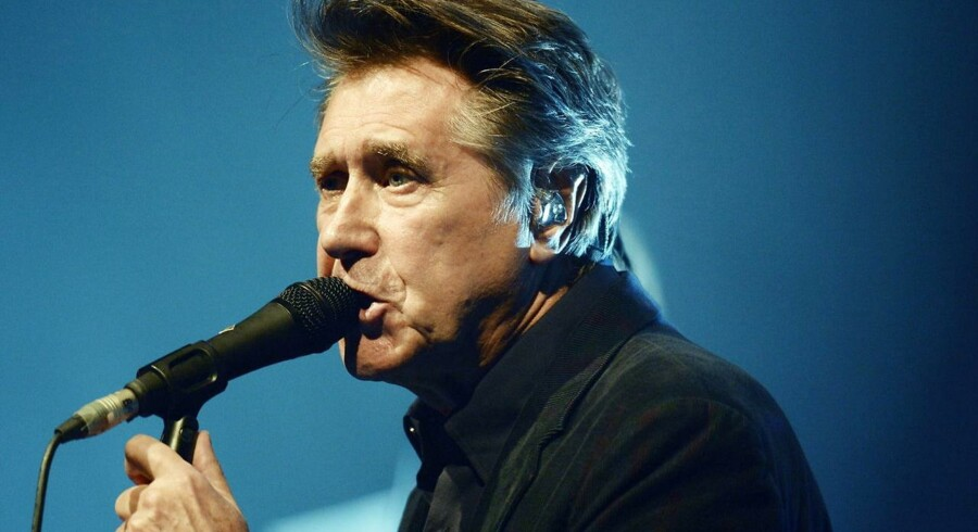 Bryan Ferry giver til sommer tre koncerter i Danmark.