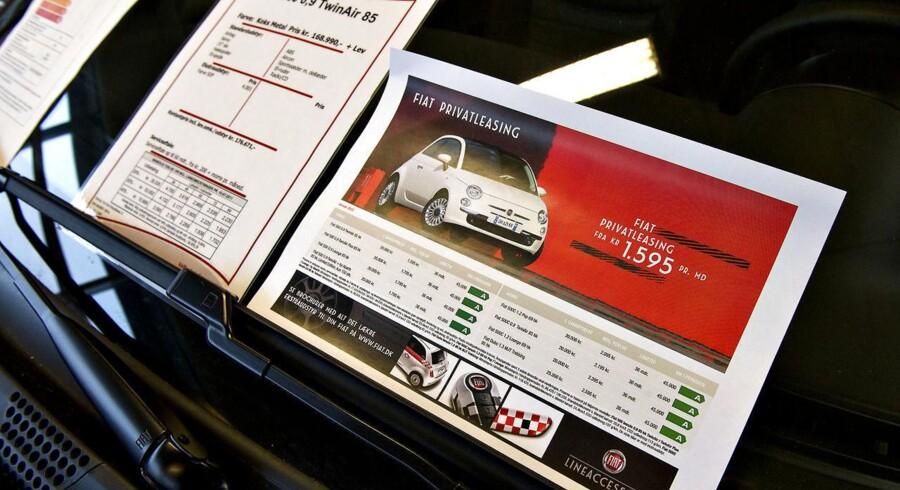 Regeringen har med sin nye aftale om bilafgifter lukket et fordelagtigt hul for leasingbiler, der vil gøre det dyrere at lease en bil fremover.