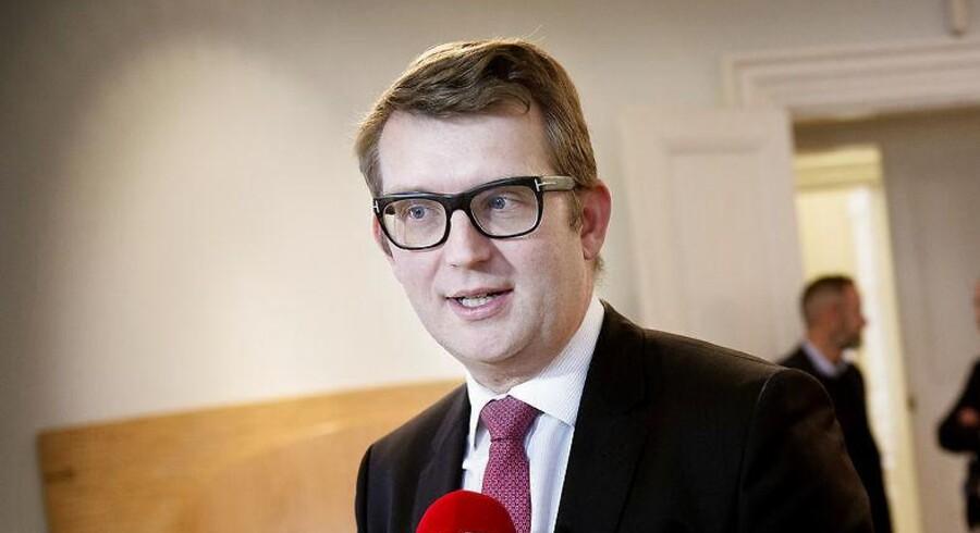 Søren Thorsager har onsdag haft besøg af beskæftigelsesminister Troels Lund Poulsen (V), der ønsker at udbrede Odense-modellen til resten af landets kommuner.