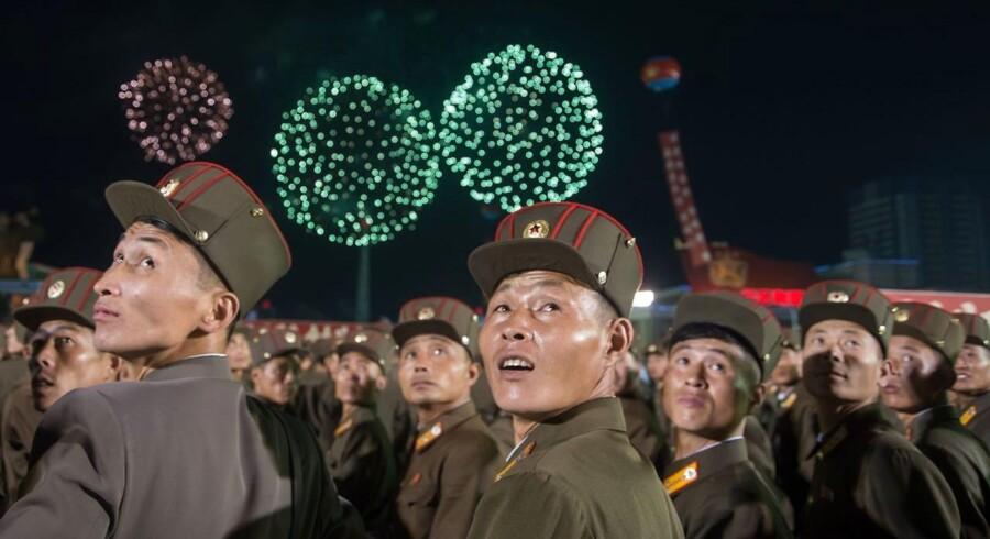Sidste år markerede Nordkoreas leder, Kim Jong-Un, nationaldagen med en atombombesprængning.