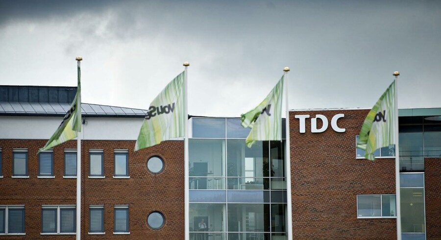 Den sidste af de fem kapitalfonde har nu solgt sin andel i TDC og tjent endnu 4,1 milliarder kroner. Arkivfoto: Torkil Adsersen, Scanpix