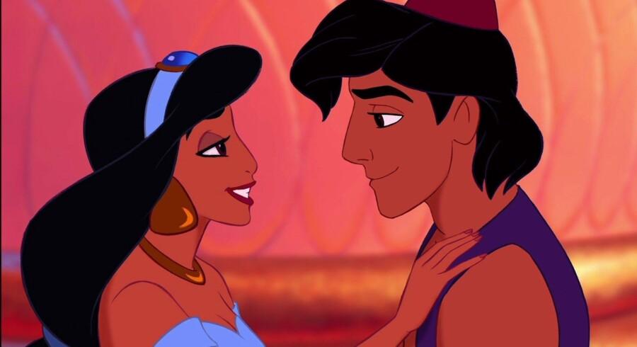 Tegnefilmen Aladdin, en Disney-klassiker, er fra 1992 og havde blandt andre den afdøde Robin Williams til at lægge stemme til. I den danske oversættelse lagde blandt andre Preben Kristensen, Ove Sprogøe og Kurt Ravn stemmer til.