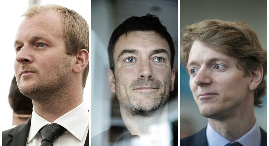 Thomas Kirk Kristiansen, Erling Daell og Robert Uggla.