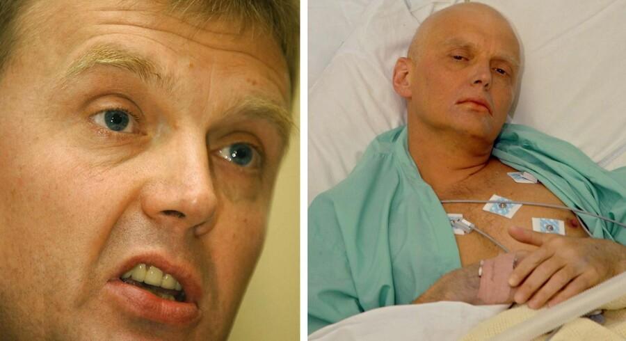 Den tidligere russiske agent Aleksander Litvinenko blev myrdet i 2006 i London, og mordet blev sandsynligvis godkendt af Vlamidir Putin, Ruslands præsident.