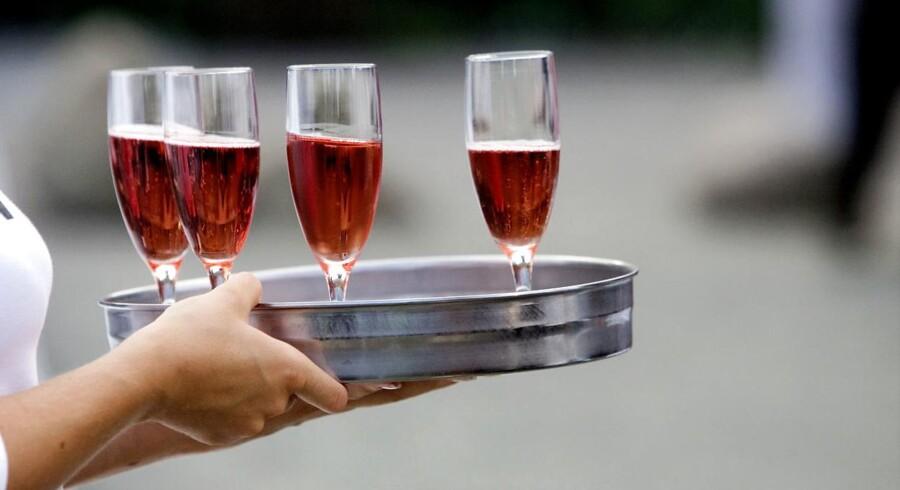 Billigere spansk rosévin er solgt under falsk oprindelse i Frankrig til stor opstandelse blandt de lokale. Arkivfoto: Uffe Weng, Scanpix