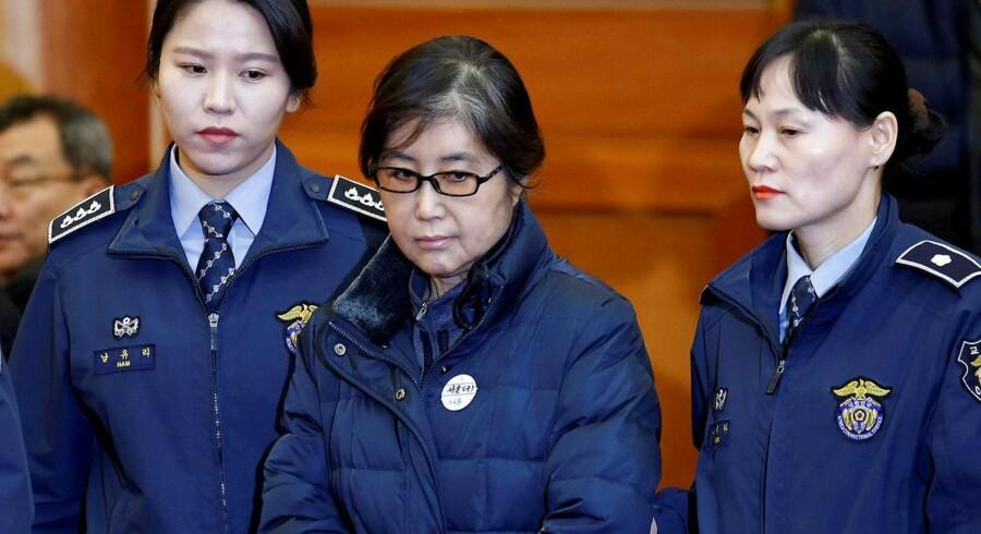 Choi Soon-sil, »kvinden i centrum« for den store politiske skandale i Sydkorea.