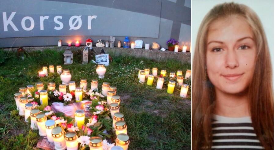 Mandag er det et år siden, den dengang 17-årige Emilie Meng forsvandt sporløst fra stationen i Korsør. Fotos: Morten Bøgh og privat.