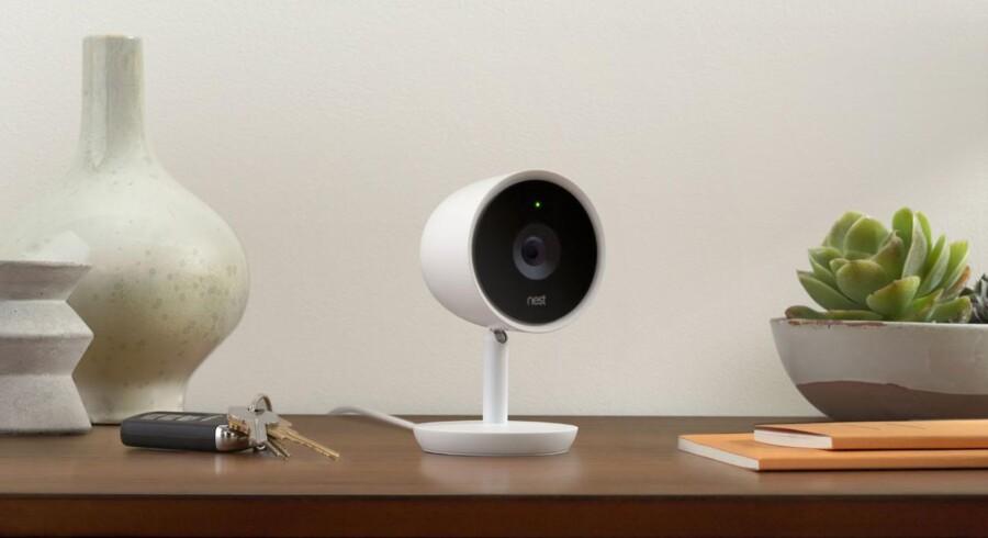 Nest Cam IQ er det mest avancerede af overvågningskameraerne.Produktfoto: Nest Labs