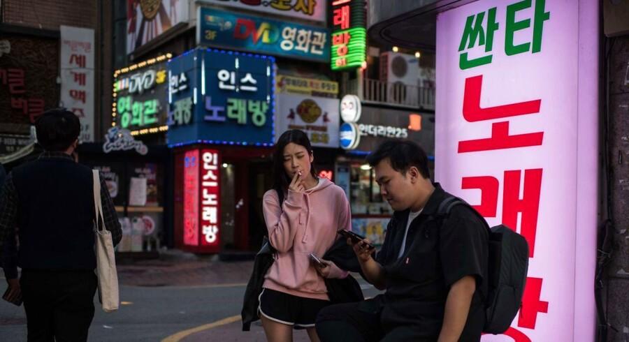 I Seoul går livet videre. Her har man vænnet sig til truslerne fra Nordkorea.