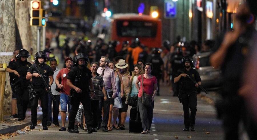 To danskere er blandt de sårede i Barcelona.