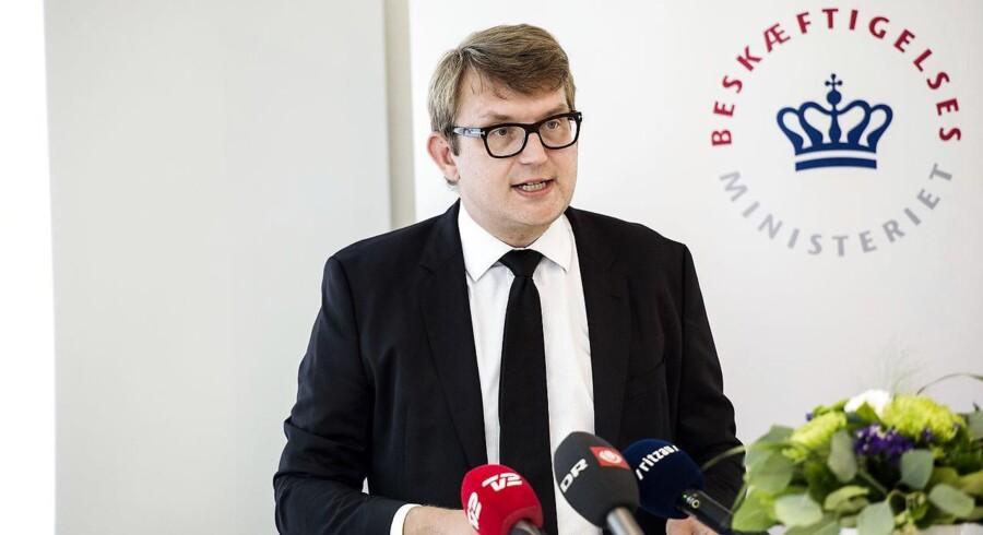 Beskæftigelsesminister, Troels Lund Poulsen (V).