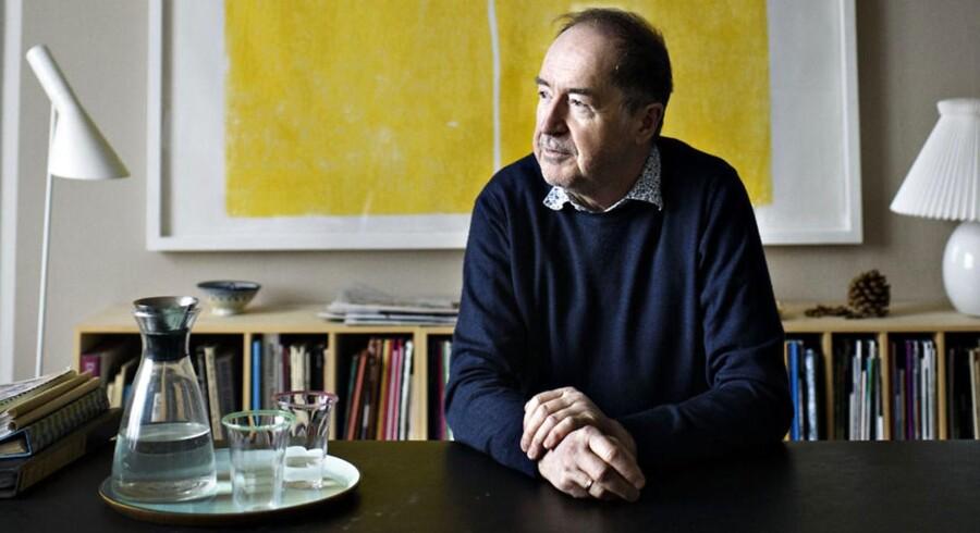Niels Skousen i sit hjem