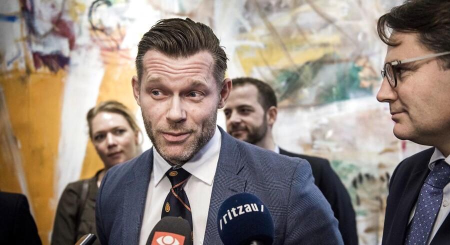 (ARKIV) Joachim B. Olsen, Liberal Alliance, mener ikke længere, at DF er et borgerligt parti.