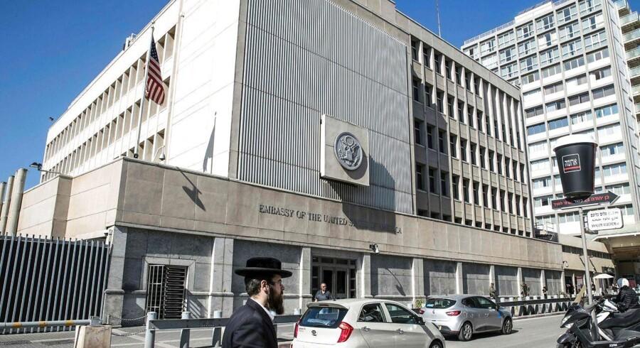 Under valgkampen lovede Donald Trump at flytte den amerikanske ambassade i Israel fra Tel Aviv til Jerusalem.