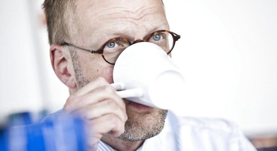 Portræt af Legos administrerende direktør, Jørgen Vig Knudstorp.