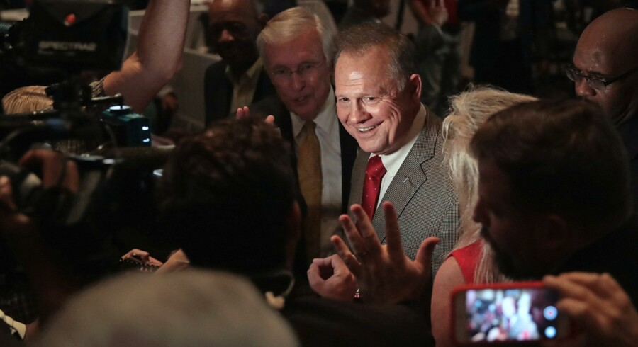 Roy Moore. Foto: Scott Olson/AFP
