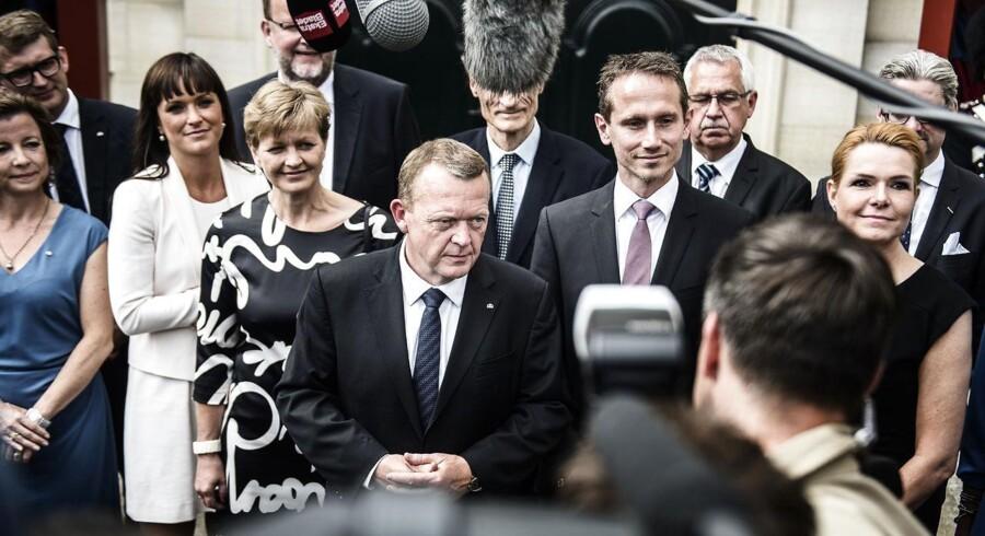 Statsminister Lars Løkke Rasmussens nye Venstre-regering har splittet ansvaret for mobil- og internetdækningen i Danmark op mellem flere ministerier. Arkivfoto: Simon Læssøe, Scanpix