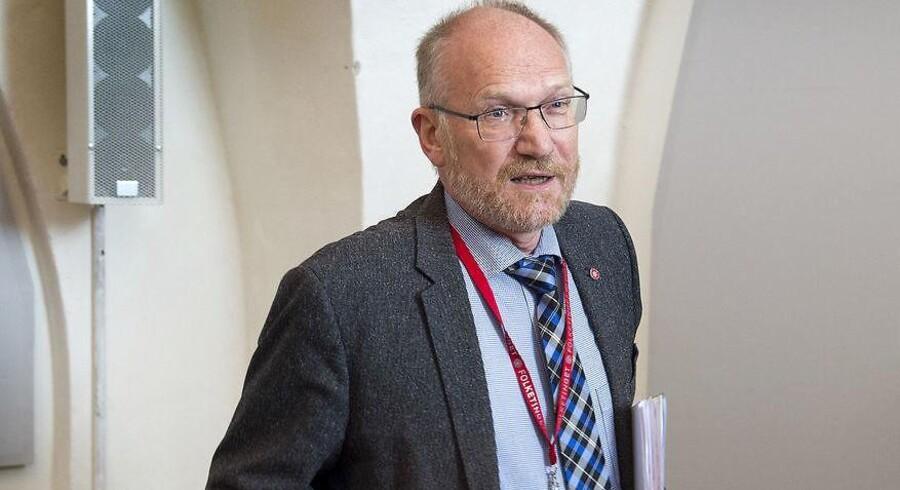 »Det er jo ikke dem, der bestemmer, hvordan undersøgelsen skal forløbe. DR og Kulturministeriet kan mene, hvad de vil,« siger formanden for Statsrevisorerne, Peder Larsen (SF).