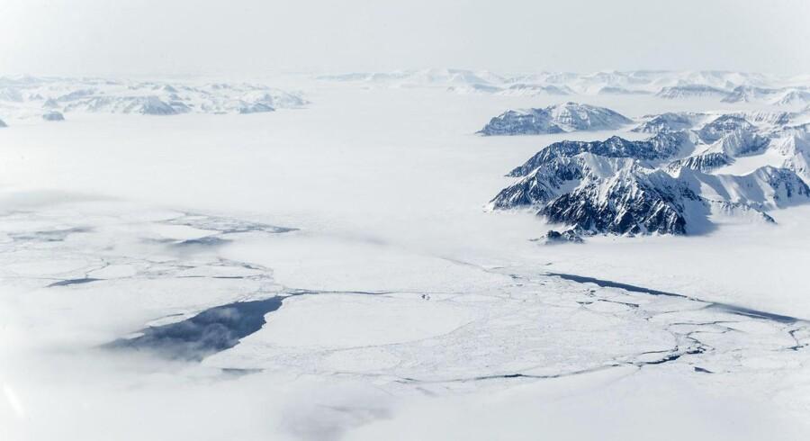 Danmark klar til omfattende militær oprustning i Arktis. (Foto: Mads Nissen)