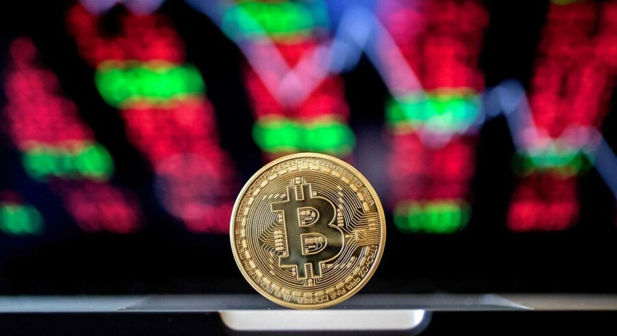 Den digitale kryptovaluta, Bitcoin. (Foto: AFP PHOTO / JACK GUEZ)