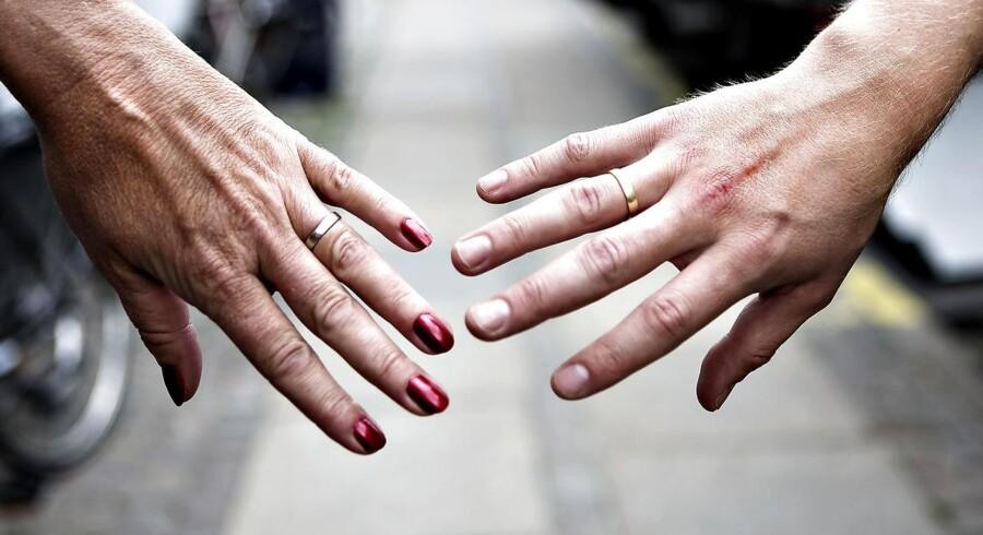 Faldet i antallet af skilsmisser skal mest af alt ses som udtryk for, at danskerne har vænnet sig til den nye og langt mere enkle skilsmisseprocedure, påpeger Børns Vilkår.