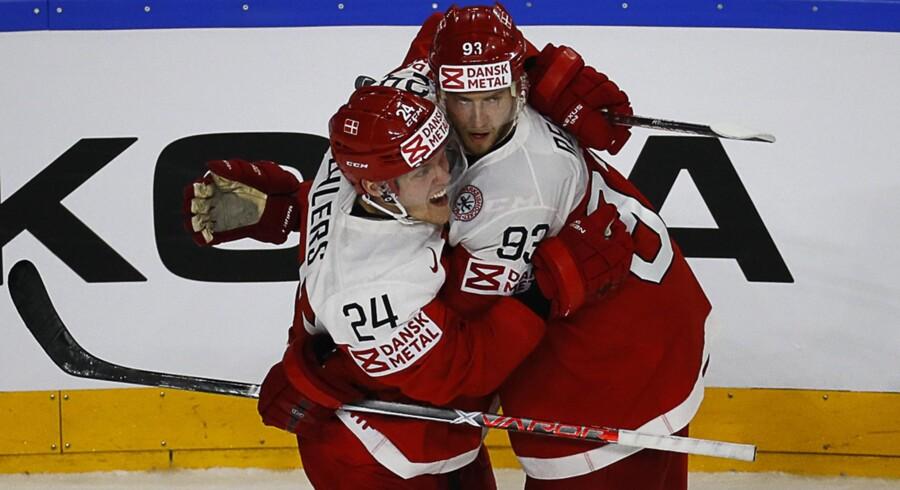 De danske ishockeyherrer kan se frem til fyldte tribuner ved VM på hjemmebane i 2018.