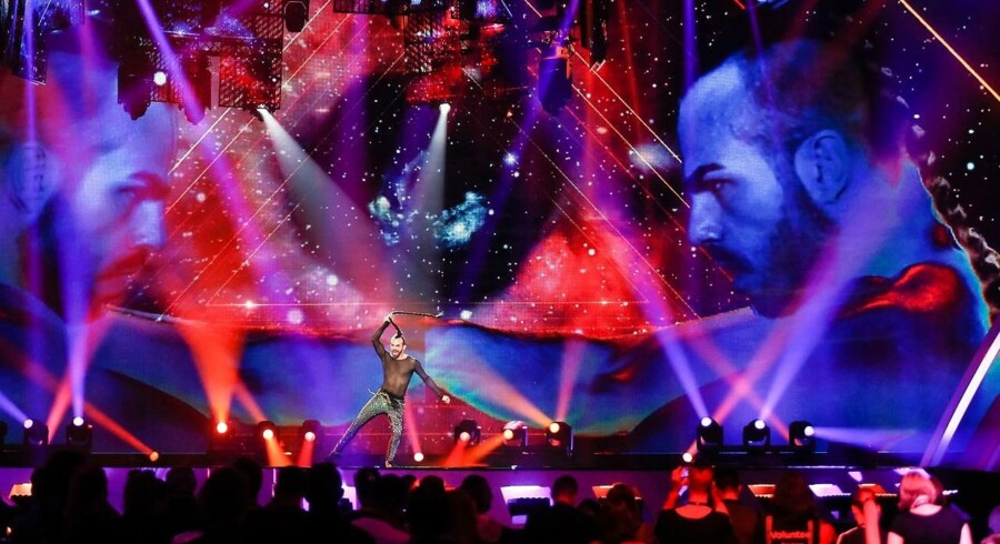 Billede fra første semifinale af Eurovision Song Contest 2017.