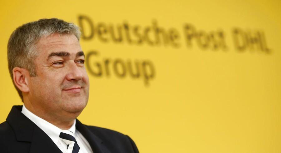 Arkivfoto. Der bliver solgt flere og flere varer på nettet, og det giver mere at lave for fragtvirksomheder som Deutsche Post, som blandt andet derfor har haft fremgang i indtjeningen.