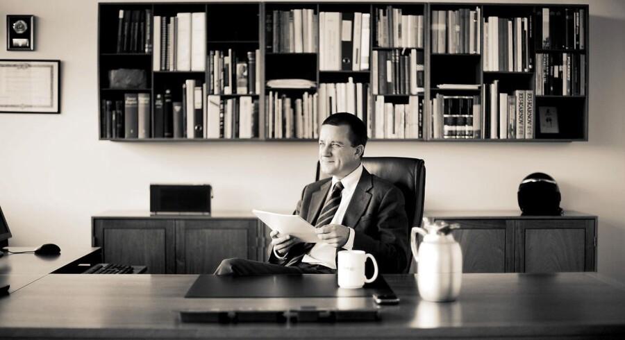 Den tidligere PET-chef, Jakob Scharf, mistænkes af Københavns Politi for at have overtrådt sin tavshedspligt i forbindelse med bogen »Syv år hos PET«, som han er hovedkidle til. Arkivfoto.