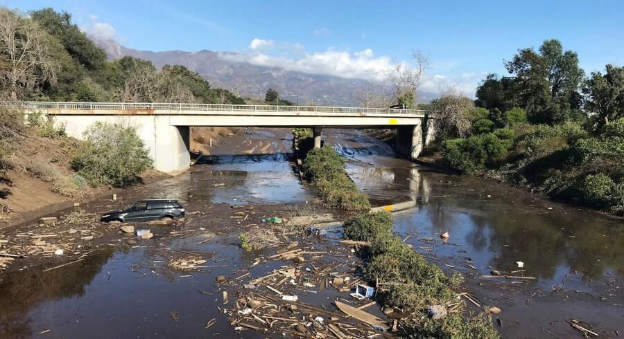 Montecito Californien efter et stort mudderskred. (Foto: STAFF/Scanpix 2018)