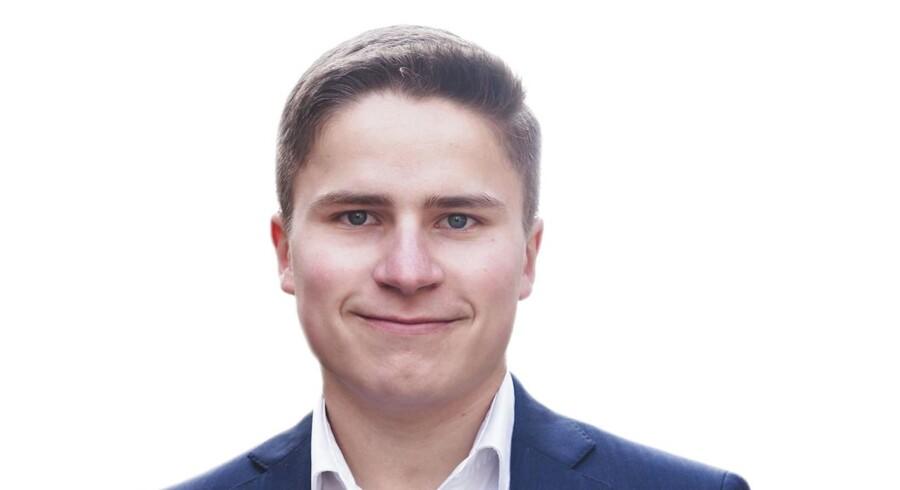 Jakob Sabroe, formand for Venstres Ungdom