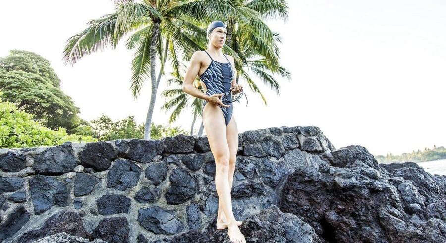Ironman World Championship 2017, Kona Hawaii. Maja Stage Nielsen ved Kealakekua Bay Marine Life under forberedelserne til ironman-VM.