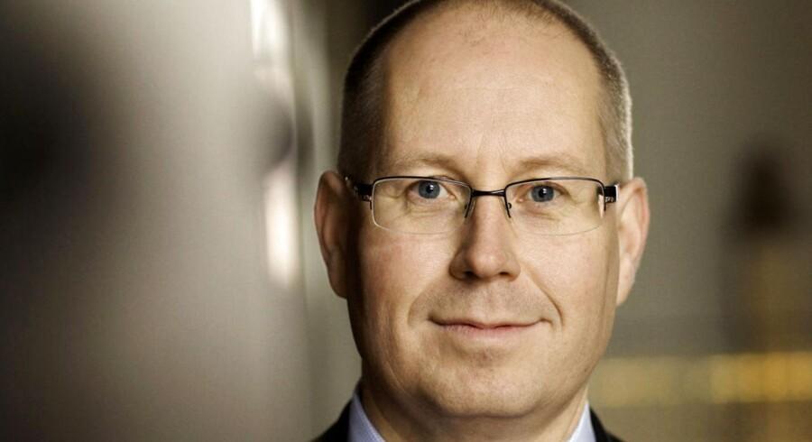 Jesper B. Jørgensen er netop blevet udnævnt til adm. direktør i Royal Unibrew. Her er han fotograferet i 2007, da han tiltrådte som direktør i Carlsberg Danmark.