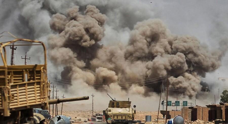 Arkivfoto. På næsten samme tid blev først en restaurant og dernæst en kontrolpost angrebet i det sydlige Irak.