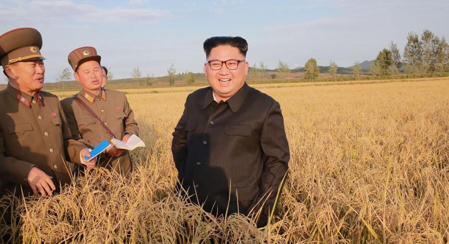 På et tidspunkt, hvor Nordkorea står over for internationale sanktioner, sender regimet titusinder af arbejdere ud til en række forskellige lande, hvor de på årsbasis tjener mellem 200 og 500 millioner dollar (mellem 1,3 og 3,2 milliarder kroner). Scanpix/Str