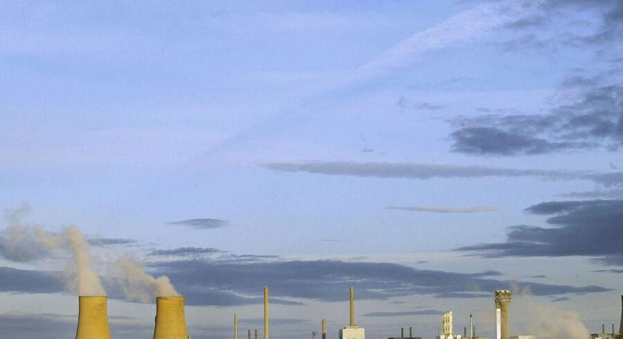 Sellafield blev ombygget til atomanlæg efter Anden Verdenskrig. Arkiv. Scanpix/Odd Andersen