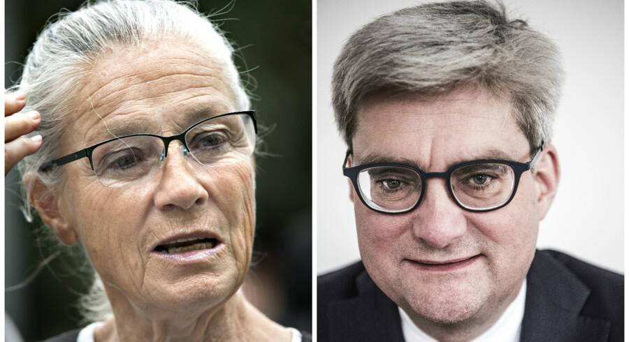Ritt Bjerregaard og Søren Åind